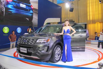 VMS 2016: Ford Explorer tầm giá 2 tỷ bá chủ thị trường SUV Việt