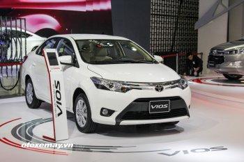 VMS 2016: Toyota Vios 2016 được trang bị động cơ mới