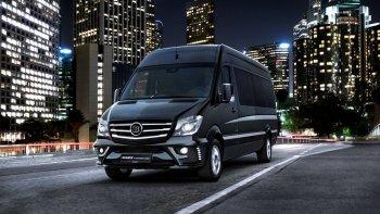 """Mercedes-Benz Sprinter độ sang chảnh kiểu """"tài phiệt"""""""