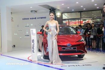 VMS 2016: Toyota  Prius 2016 chuẩn bị được bán tại Việt Nam