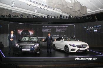 Mercedes-Benz E-Class 2017 được bán với giá từ 2,099 tỷ đồng