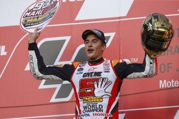 Marc Marquez đăng quang ngôi vương MotoGP 2016