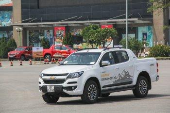 Chevrolet Việt Nam bắt đầu mời lái thử Colorado 2017