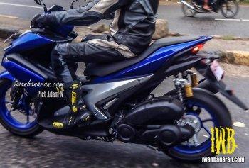 Yamaha NVX xuất hiện trên đường chạy thử