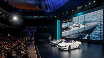 Mercedes-Benz trình diễn dàn xe sport hai cửa mới lạ tại VIMS 2016