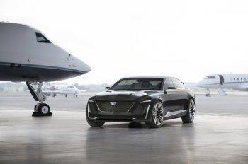 Cadillac Escala Concept 2016 – sedan mang triết lý SUV