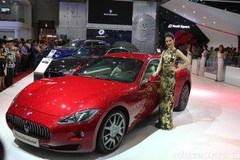 Maserati gây ấn tượng ngay lần đầu tham dự VIMS 2016