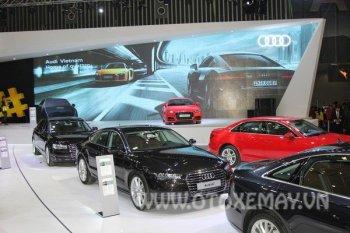 """VIMS 2016: Audi mang tới """"ngôi nhà quattro"""""""