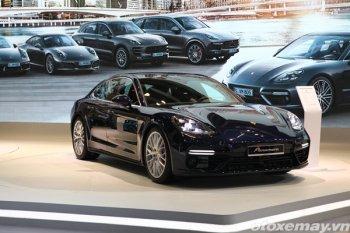 """""""Ngôi sao"""" Porsche Panamera Turbo 2017 tỏa sáng tại VIMS 2016"""