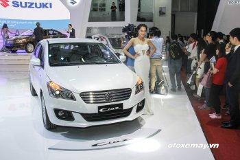 VIMS 2016: Suzuki Ciaz chính thức ra mắt thị trường Việt