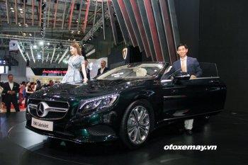 Mercedes-Benz S500 Cabriolet 2017 được bán với giá 10,799 tỷ đồng