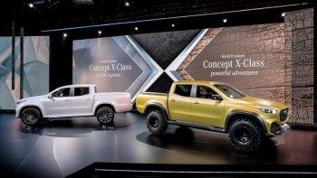 Mercedes-Benz chính thức ra mắt hình mẫu concept bán tải hạng sang
