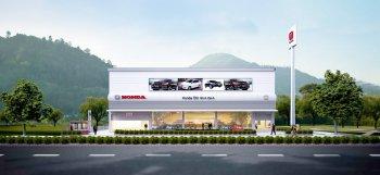 Xây dựng showroom ô tô Honda quy mô lớn đầu tiên tại Bình Định
