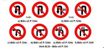 Nhận biết biển báo giao thông mới để tránh bị phạt