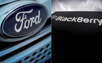 Đến lượt BlackBerry bắt tay Ford phát triển phần mềm