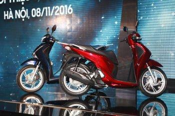 Xem trực tiếp ra mắt Honda SH 2017