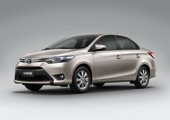 Toyota Vios đắt khách nhất trong tháng 10