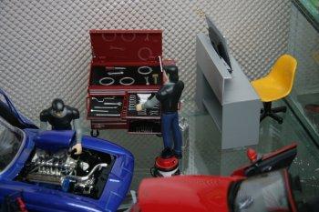 Diorama Garage: Sở thích đậm chất nghệ thuật dành cho fan xe