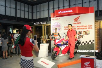 Honda Việt Nam tổ chức ăn mừng chức vô địch thế giới của Marquez