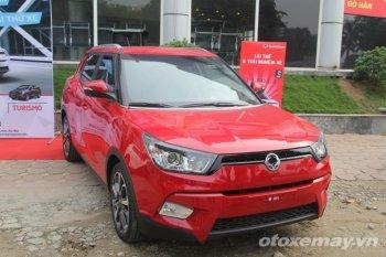 Lần đầu tiên được lái thử Ssangyong Tivoli tại Hà Nội