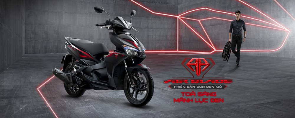 Honda Air Blade 125cc có màu sơn mới