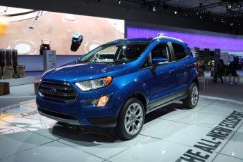 Ford EcoSport 2018 chính thức ra mắt thế giới