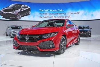 Phiên bản thể thao Honda Civic Si 2017 đã xuất hiện