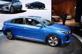 Hyundai mang xe tự lái Ioniq đến Triển lãm Ôtô Los Angeles