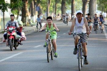 Hà Nội sẽ mở dịch vụ thuê xe đạp tự động