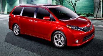Toyota Sienna bị triệu hồi vì nguy cơ cửa tự mở
