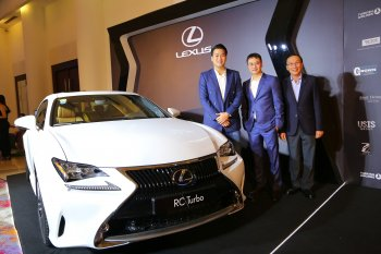 Lexus RC Turbo xuất hiện tại CEO Night 2016