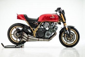 """Herencia """"thuần hóa"""" quái vật Honda CBX"""