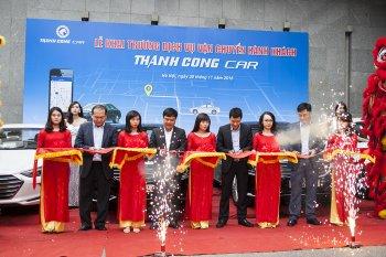Taxi Thành Công mở dịch vụ đặt xe cao cấp trực tuyến
