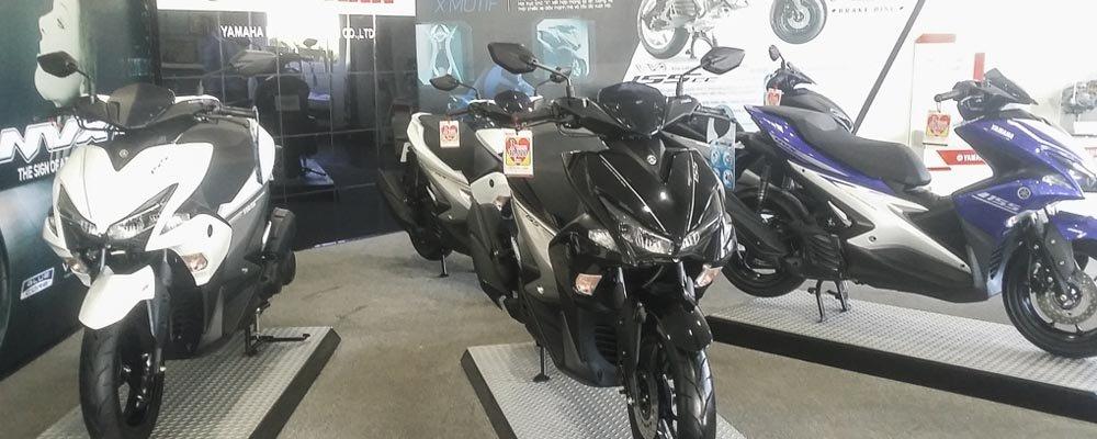 Yamaha NVX có giá từ 45 triệu, đè Air Blade