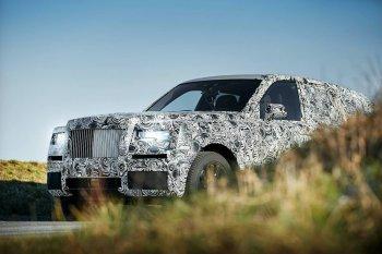 SUV Rolls-Royce chính thức lộ diện