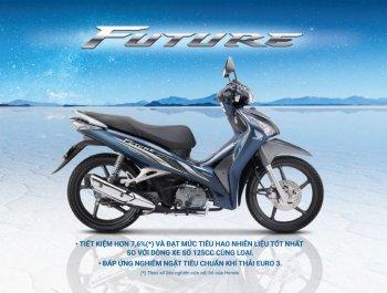 Honda bổ sung màu mới cho Future FI 125cc