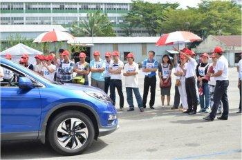 Honda Việt Nam đẩy mạnh đào tạo lái xe ô tô an toàn 2016