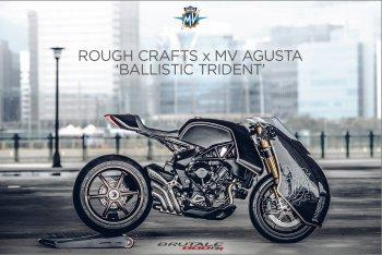Rough Crafts, MV Agusta và viên đạn màu đen