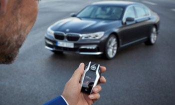 Bắt trộm bằng công nghệ khóa xe BMW từ xa