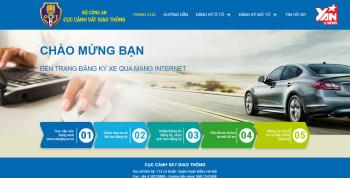 Triển khai đăng ký ôtô qua Internet bắt đầu từ Hà Nội, TP.HCM