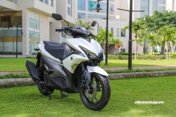 Cận cảnh các phiên bản Yamaha NVX hoàn toàn mới