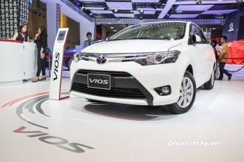 Toyota Vios và Fortuner vẫn bán chạy nhất tháng