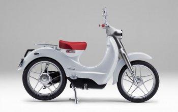 Năm 2018 sẽ có Honda Cub chạy điện