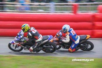 Kịch tính giải đua xe Honda Việt Nam tại Bà Rịa-Vũng Tàu