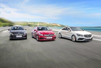 Mercedes-Benz tung ra coupe thể thao CLA nâng cấp, giá từ 1,529 tỷ đồng