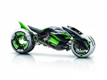 Kawasaki dự định sản xuất môtô điện?