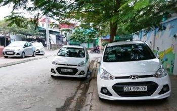"""Hàng loạt xe Hyundai bị """"vặt gương"""" sau một đêm"""