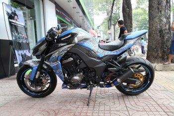 Tân trang Kawasaki Z1000 đón năm mới