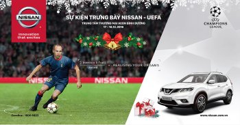 Nissan Việt Nam tổ chức game UEFA đón giáng sinh