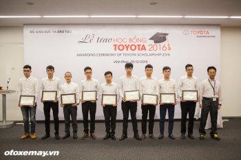 Học bổng Toyota 2016 đã trao cho 115 sinh viên xuất sắc
